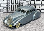 BRK 001 Brooklin 1/43 Pierce Arrow Silver Arrow Hard Top 1933 silver blue met.  (1)