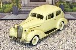 BC 018 Brooklin 1/43 Buick Special Victoria Coupe M-48 Hard Top 1936 Light yellow (1)