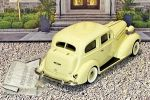 BC 018 Brooklin 1/43 Buick Special Victoria Coupe M-48 Hard Top 1936 Light yellow