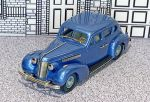 BC 006 Brooklin 1/43 Buick Special Plain Back 4-door Sedan M-47 Hard Top 1937 Blue met.  (1)