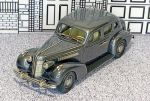 BC 003 Brooklin 1/43 Buick Special Touring 4-door Sedan M-41 Hard Top 1937 Dark Grey met. (1)