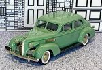 BRK 098 Brooklin 1/43 La Salle 2-door Touring Sedan Hard Top 1939 green
