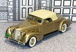 BRK 014 Brooklin 1/43 Cadillac V16 Coupe Conv.Top Up 1940 brown met.