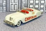 "BRK 008A Brooklin 1/43 Chrysler Newport ""Indianapolis Pace Car"" Conv.Top Down 1941 white"