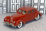 BRK 052 Brooklin 1/43 Hupmobile Model 115R Skylark Custom Touring Sedan Hard Top 1941 red