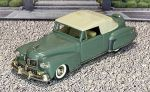 № 6-07207 COLLECTOR'S CLASSICS 1/43 Lincoln Continental Conv.Top Up 1946 Light Green