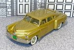 BRK 002A Brooklin 1/43 Tucker Torpedo Hard Top 1948 Gold (1)