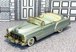 WMS 068X Western Models 1/43 Cadillac Series 62 Conv.Top Down 1949 silver met. (1)