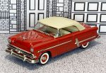 № 2-11335 Collector's Classics 1/43 Ford Sunliner Conv.Top Up 1953 red (1)