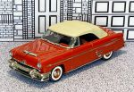 № 3-9593 Collector's Classics 1/43 Mercury Monterey Conv.Top Up 1954 red (1)