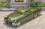 MC-2 Motor City USA 1/43 Cadillac Fleetwood Series 60 Hard Top 1955 Light Green Met. (1)