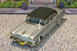 USA-1 Usa Models1/43 Cadillac Fleetwood 75 Limousine Hard Top 1958 Silver (1)