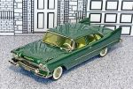 WMS 065 Western Models 1/43 Plymouth Plaza Business Coupe Hard Top 1958 green (1)