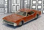№ 407 Verem(Solido) 1/43 Oldsmobile Toronado Hard Top 1967 brown  (1)