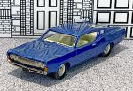 AA 13B American Classics 1/43 Ford Torino Coupe Hard Top 1968 dark blue (1)