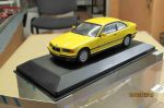 430 023321 Minichamps 1/43 BMW 3-series coupe yellow